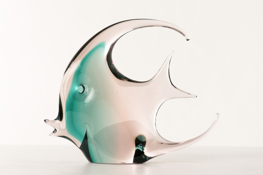 FISH SCULPTURE - SCALAR - MURANO - ITALY - AROUND 1965