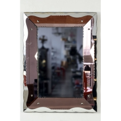MIRROR - RECTANGLE - ART DECO - ITALY - AROUND 1930