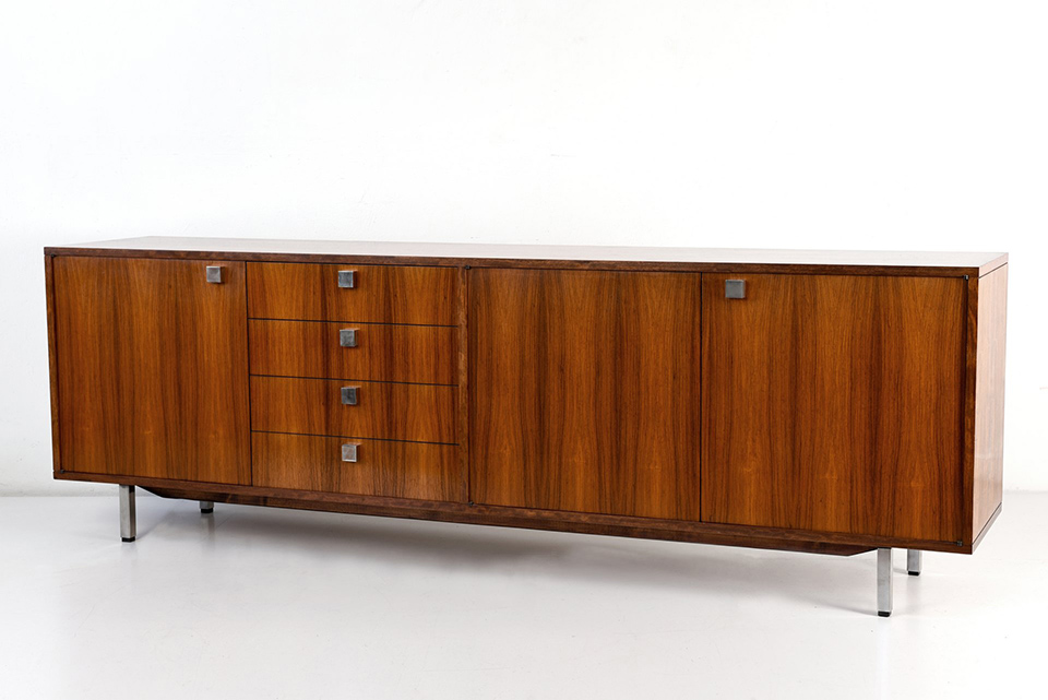 SIDEBOARD - ROSEWOOD - GERMANY - AROUND 1968