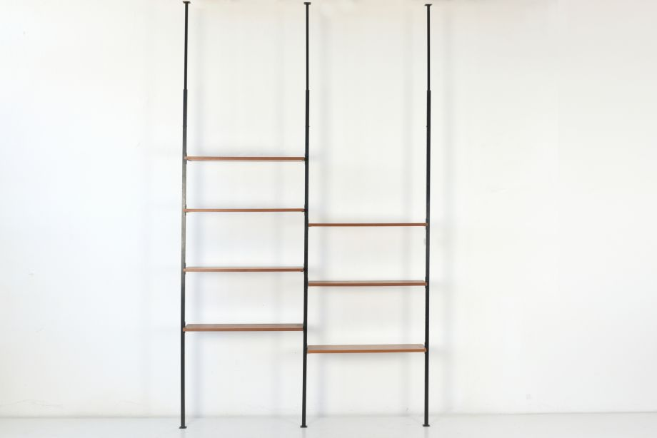 CLAMP SHELF - TEAK - DENMARK - AROUND 1960
