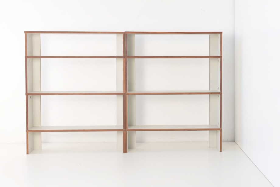 2 SHELVES - SYSTEM M 125 - HANS GUGELOT - BOFINGER - GERMANY - 1950-1956