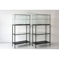 PAIR OF SHOWCASES - FROM BERLIN ARCHITECT - AROUND 1970
