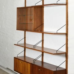 09402 Shelf System Royal poul cadovius cado daenemark 1958