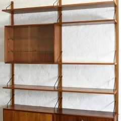 09403 Shelf System Royal poul cadovius cado daenemark 1958