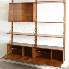09404 Shelf System Royal poul cadovius cado daenemark 1958