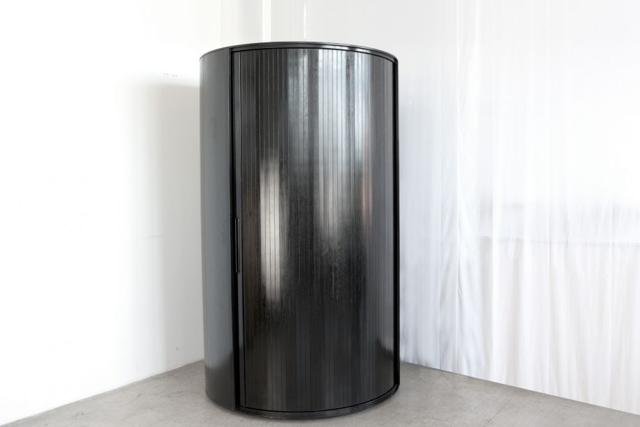 MONUMENTAL WARDROBE - CYLINDER SHAPE - ITALY - AROUND 1985
