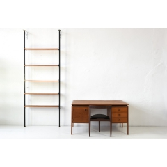 SPAN SHELVING - TEAK - SWITZERLAND - AROUND 1958