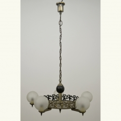 PENDANT LIGHT - ART NOUVEAU - GERMANY