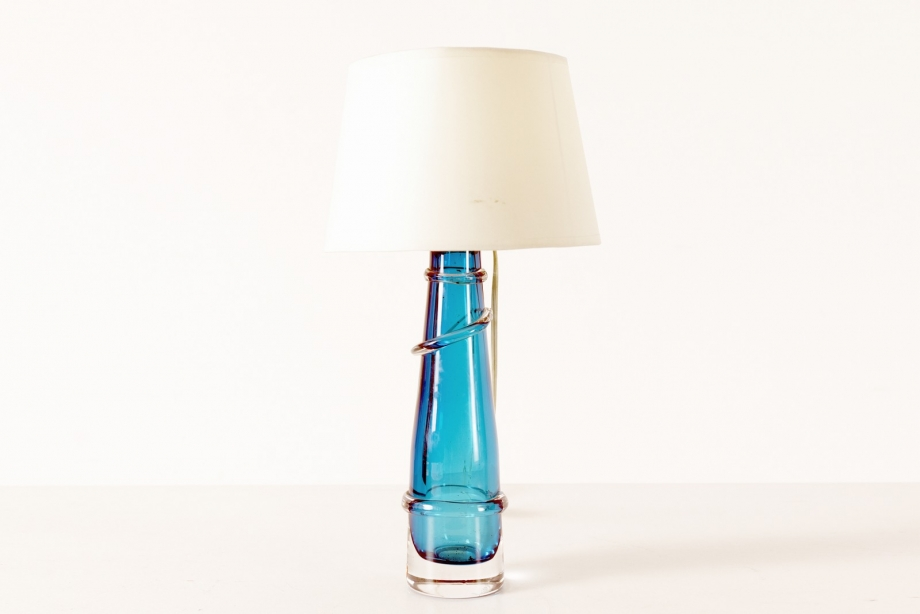 TABLE LAMP - ORREFORS - SWEDEN - AROUND 1960
