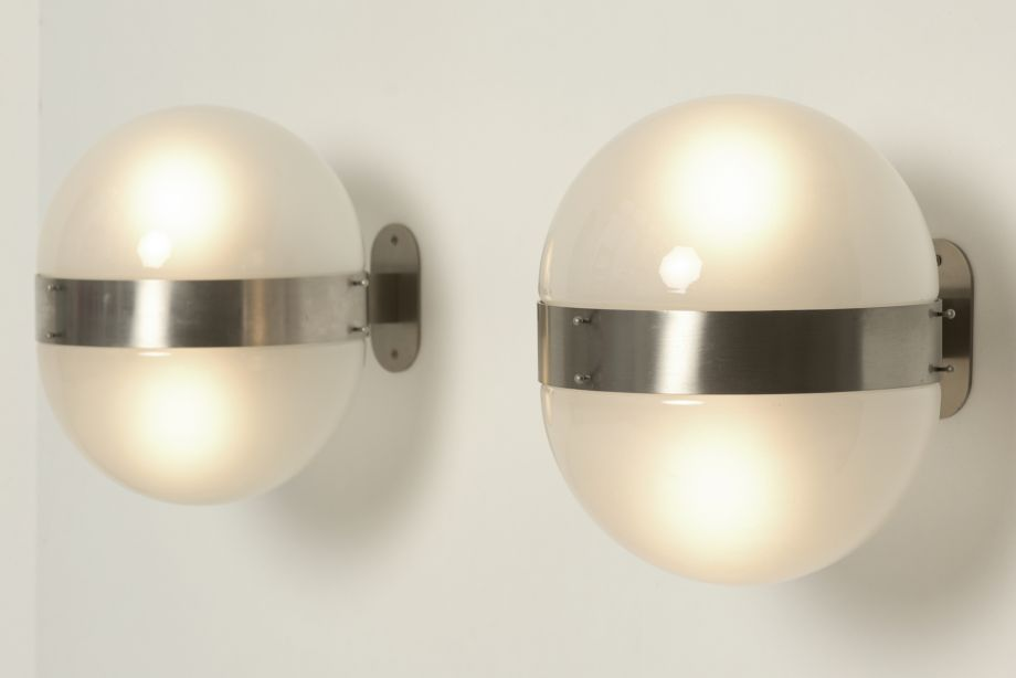 PAIR OF WALL LAMPS - CLIO - SERGIO MAZZA - ARTEMIDE - ITALY - 1960