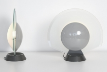 10942 Pair Table Lamps Tikal 1555 arteluce itali