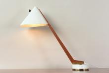 11454 schreibtischlampe b54 hans agne jacobson markaryd schweden 1952