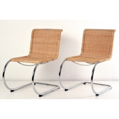 PAIR OF CANTILEVER CHAIR - MR 10 - MIES VAN DER ROHE - GERMANY - 1926