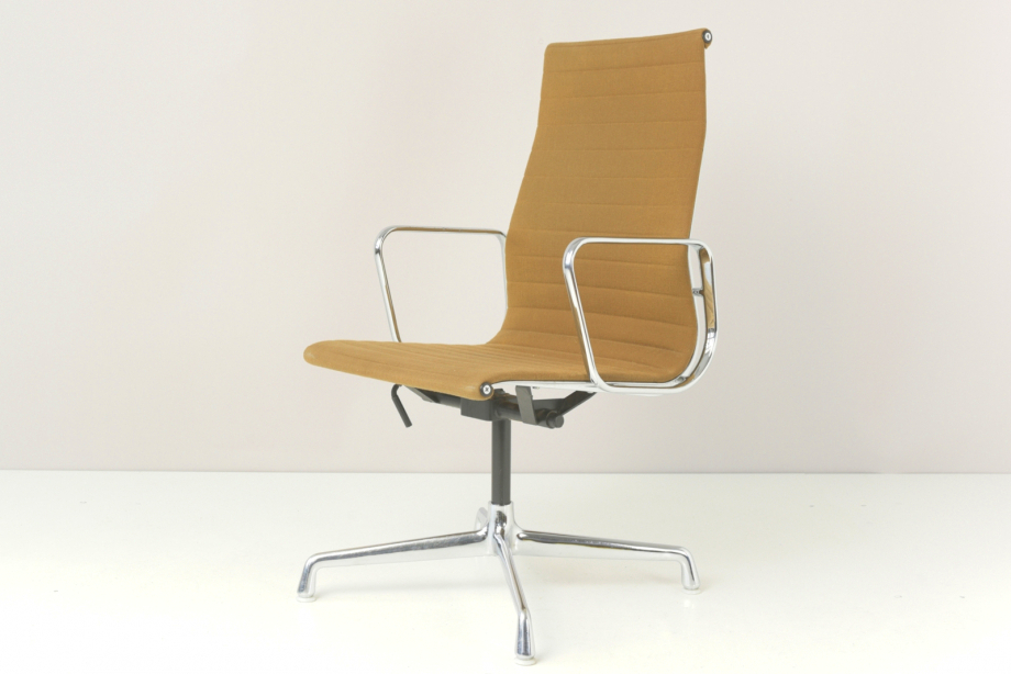 KONFERENZSESSEL - ALU GROUP - RAY UND CHARLES EAMES - HERMAN MILLER - U.S.A. - 1958