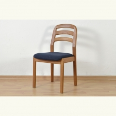 4 UPHOLSTERY CHAIRS – DYRLUND - DENMARK – AROUND 1980