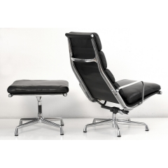 10566 softpad lounge chair ea438 ottoman ea423 charles eames usa 1969
