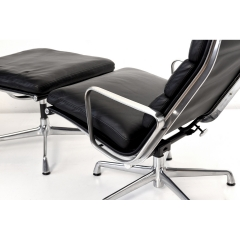 10568 softpad lounge chair ea438 ottoman ea423 charles eames usa 1969