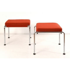 PAIR OF STOOLS - SWITZERLAND - AROUND 1935
