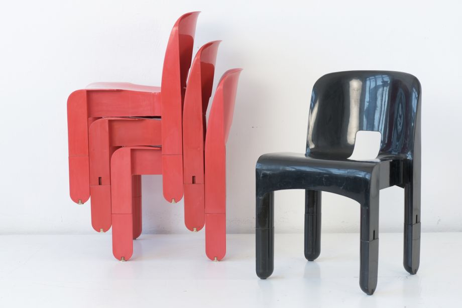 STACKING CHAIR - UNIVERSALE - JOE COLOMBO - KARTELL - ITALY - 1965