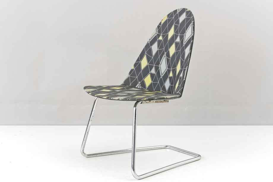 CANTILEVER CHAIR - WALTER PABST - MAUSER - GERMANY - 1955