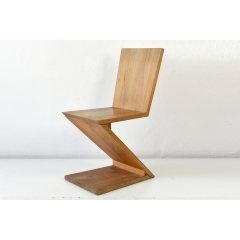 CHAIR ZIGZAG VARIANT - GERRIT RIETVELD - GERMANY - 1932