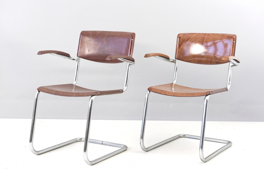 CANTILEVER ARMCHAIR - BREMSHEY - GERMANY - AROUND 1960
