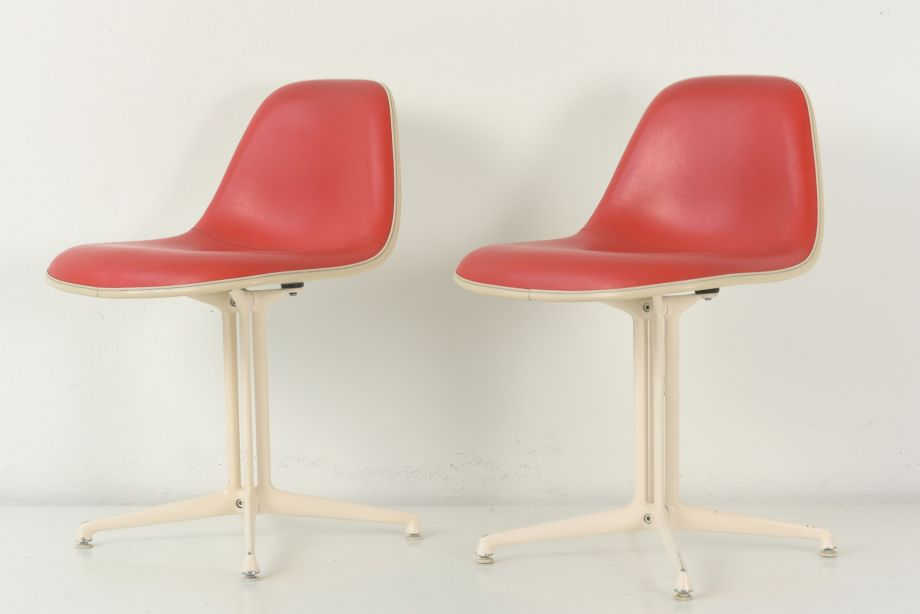 PAIR OF CHAIRS - LA FONDA - CHARLES UND RAY EAMES - GERMANY - AROUND 1965