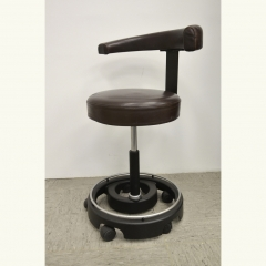 WORKCHAIR - LEATHER/BROWN
