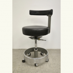 WORKCHAIR - SIEMENS - LEATHER/BLACK