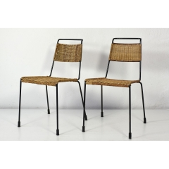 2 STACKCHAIRS - PAUL SCHNEIDER VON ESLEBEN - FOR WILDE and SPIETH - 1952