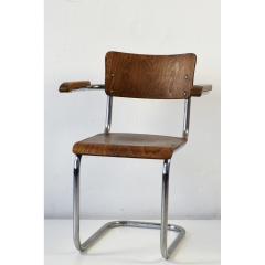 CANTILEVER - ARMCHAIR - THONET - AROUND 1950