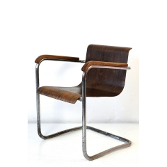 CANTILEVER ARMCHAIR - PRAGUE - AROUND 1930