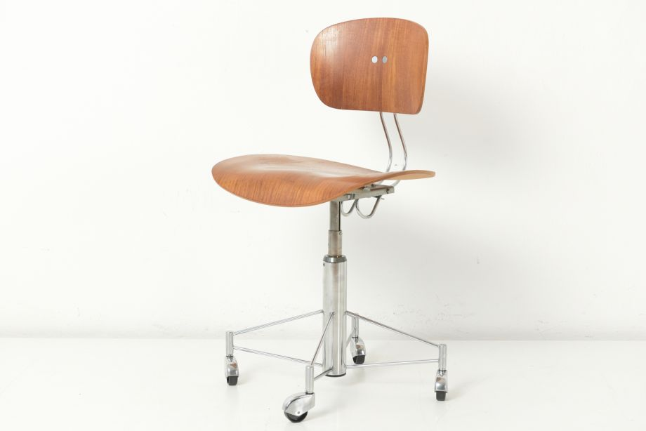 DESK CHAIR ON ROLLERS - SE 40 R - EGON EIERMANN - GERMANY - 1957