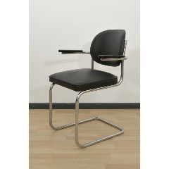CANTILEVER CHAIR - MAUSER - BLACK