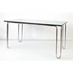 TABLE - MAUSER - GLASS TOP - 1955
