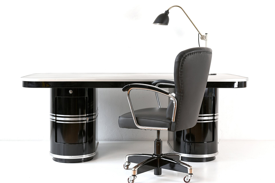 RUNDFORM-DESK - BERLIN - MAUSER - GERMANY - 1949