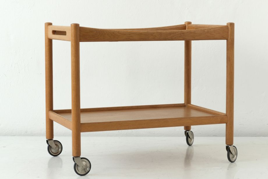 TEA CART - AT 45 - HANS WEGNER - ANDERS TUCK - DENMARK-1958
