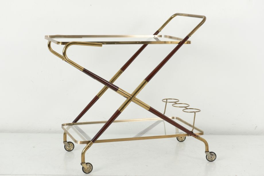 BAR CART - CESARE LACCA - CASSINA - ITALY - AROUND 1950