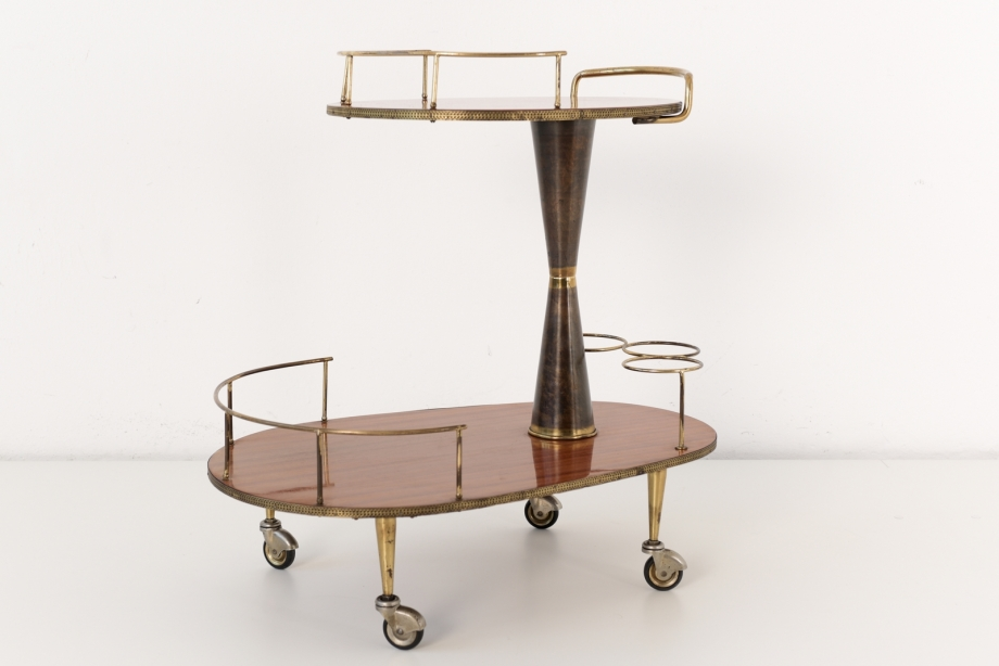 BAR CART - ITALY - AROUND 1955