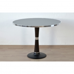 DINERTABLE – ROUND – LIGHT GRAY - ANTHRACITE  - 1950
