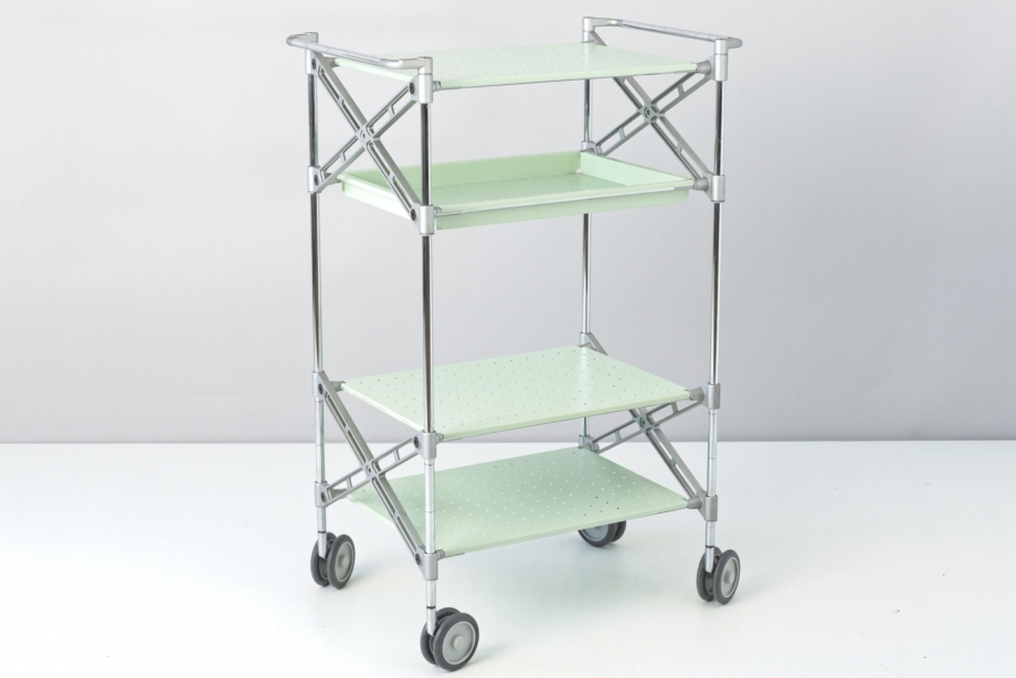 SERVING TROLLEY - OXO CART - ANTONIO CITTERIO - OLIWER LÖW - KARTELL - ITALY - 1990