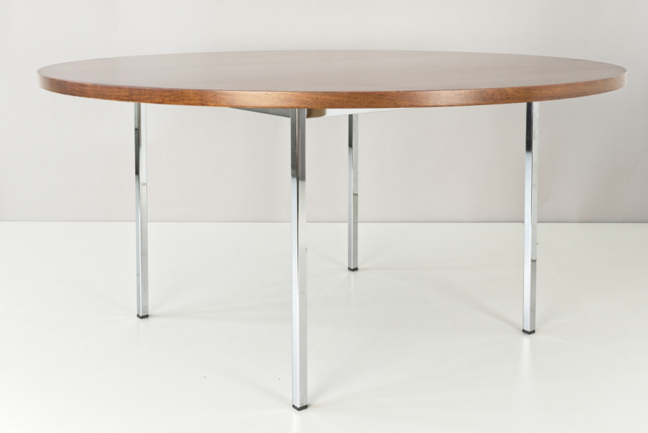ROUND CONFERENCE TABLE - FLORENCE KNOLL BASSETT - KNOLL INTERNATIONAL - SWITZERLAND - AROUND 1960