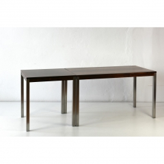 2 DINNER TABLES - RIO ROSEWOOD - DENMARK - around 1968