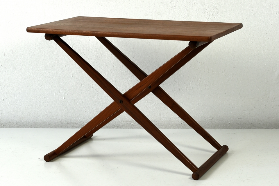 SMALL FOLDING TABLE - J.C. ANDERSEN - AARHUS - DENMARK - AROUND 1960