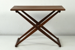 09812 Small Folding Table j c andersen aarhus daenemark 1960