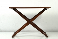 09813 Small Folding Table j c andersen aarhus daenemark 1960