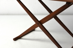 09819 Small Folding Table j c andersen aarhus daenemark 1960