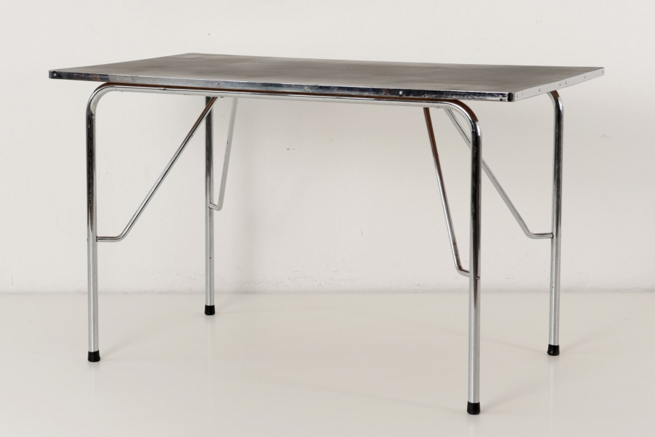 STEEL TUBE TABLE - HOLLAND - AROUND 1950