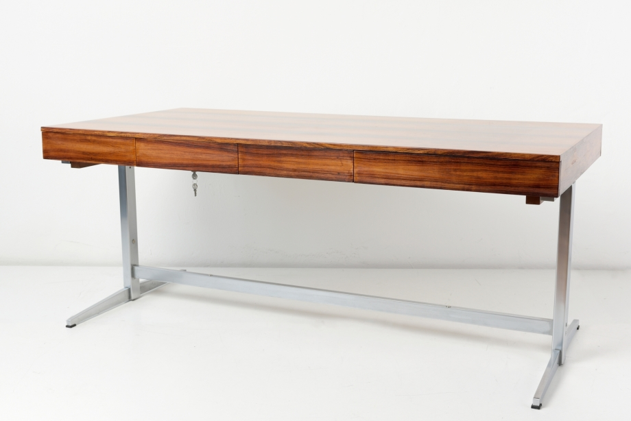 DESK - RIO-ROSEWOOD - WALTER KNOLL - GERMANY - AROUND 1965
