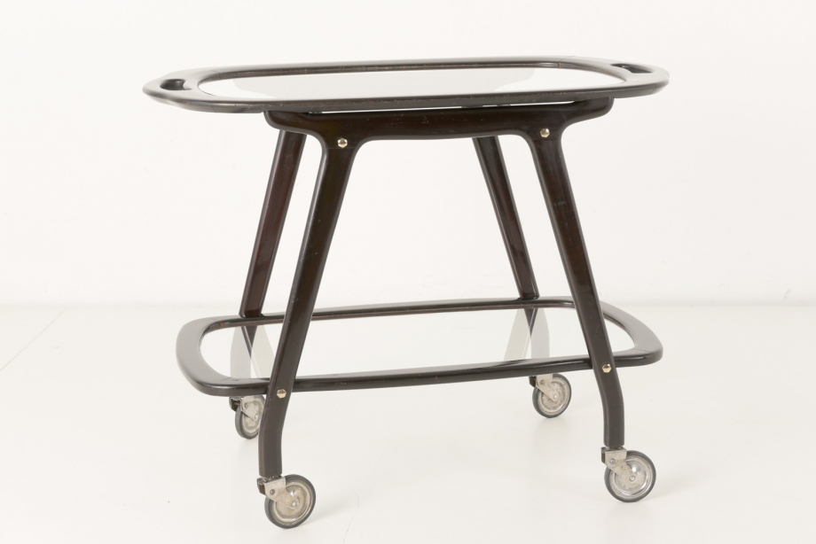 SIDE TABLE WITH TABLET - CESARE LACCA - CASSINA - ITALY - CIRCA 1950